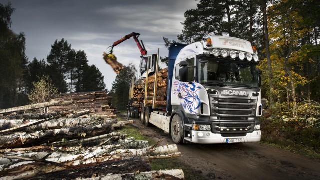 Scania – skogens konung